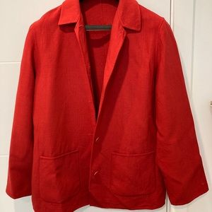 Jackets & Blazers - 🍁2for$55 Red Jacket- large